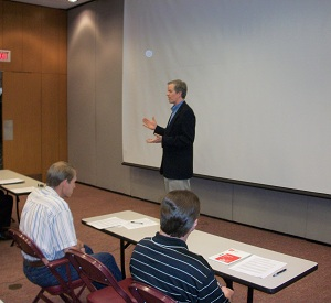 Dr. Jim Anderson Presents A Job Search Workshop To IEEE Members