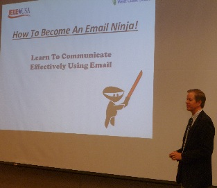 Dr. Jim Anderson's Email Ninja Presentation